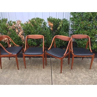 Mid-Century Danish Teak Side Chairs- Set of 4 Preview