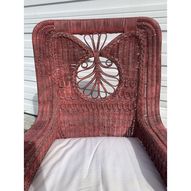 Hard to find, large, vintage, Ralph Lauren Polo lounge chair. Comes with cushion. Previously painted. Good vintage...