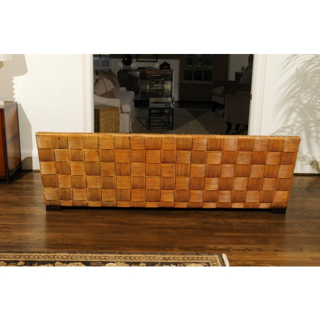 Mid-Century Modern Stunning Block Island Collection Sofa by John Hutton for Donghia, circa 1995 For Sale - Image 3 of 11