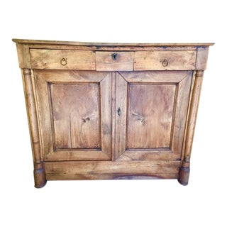 19th Century French Country Cherry Cabinet For Sale