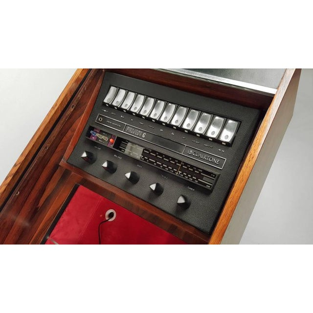First Generation Clairtone Project G T4 Rosewood Stereo System For Sale - Image 9 of 11
