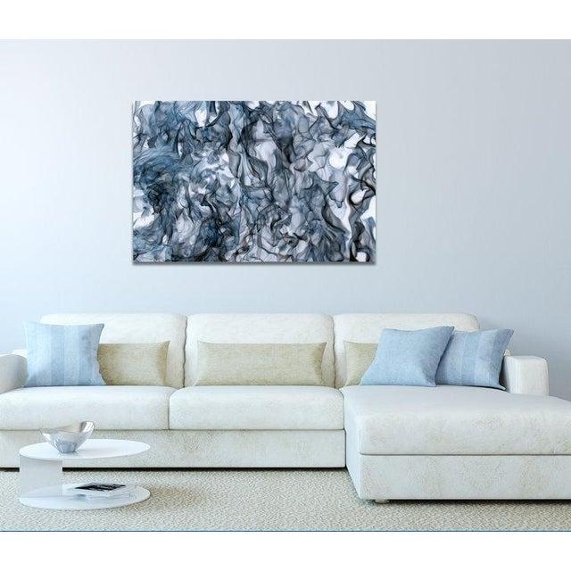 Abstract John Duckworth, Spirari #72025 Blue, 2017 For Sale - Image 3 of 4