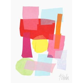 """Birthday Cake Fine Art Print 25 1/2"""" X 33 1/2"""" by Liz Roache For Sale"""