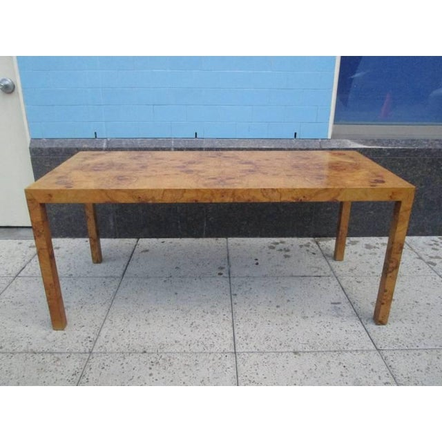 Mid-Century Modern Milo Baughman Console Table For Sale - Image 3 of 8