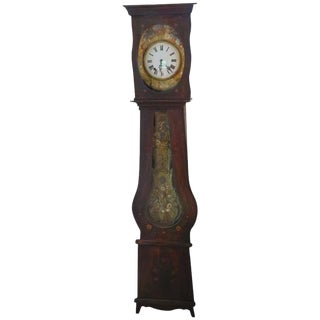 19th Century French Provincial Clock For Sale