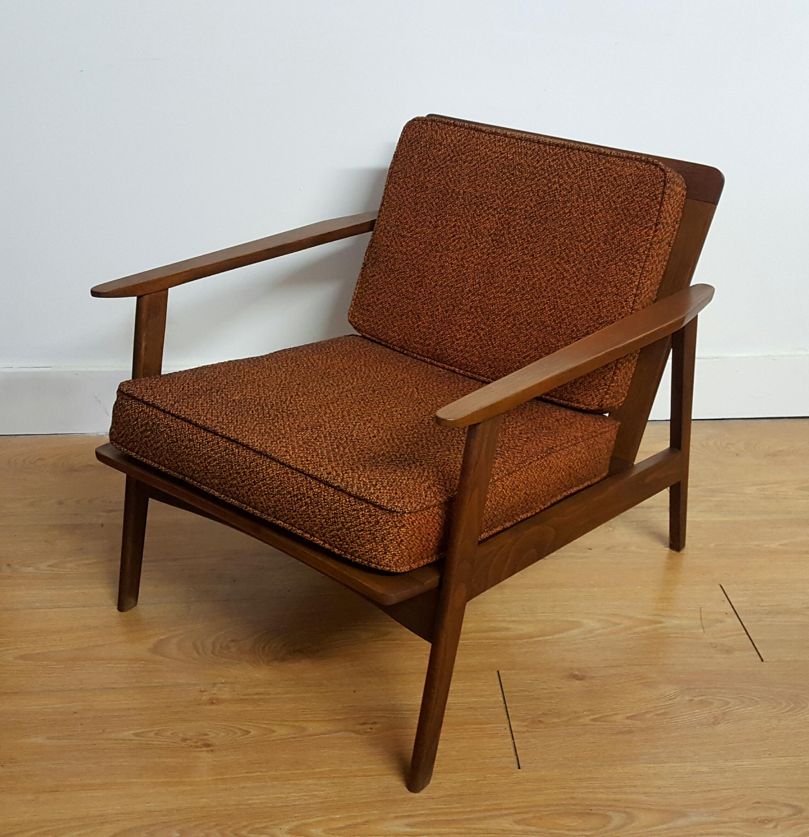 Adrian Pearsall Craft Associates Modern Lounge Chair   Image 3 Of 6