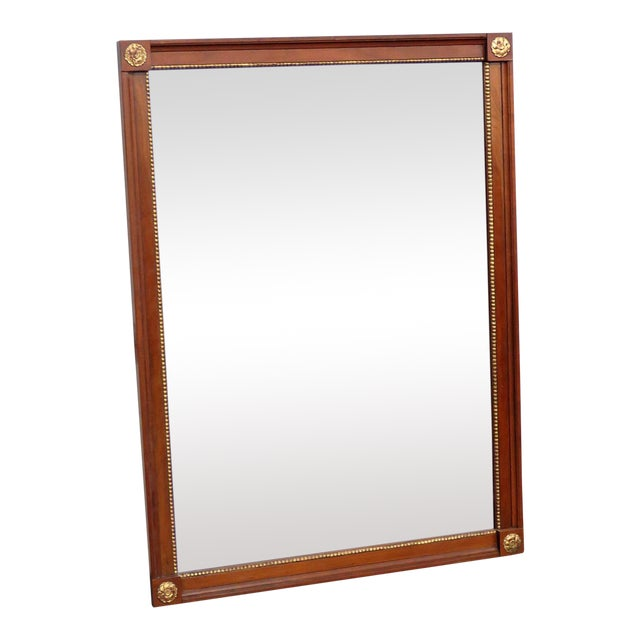 Kindel Furniture Belvedere Regency Style Wall Mirror For Sale