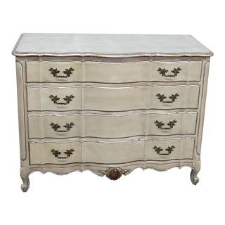 20th Century Shabby Chic Distressed Painted Dresser For Sale