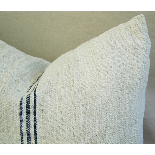 Custom French Grain Sack Down/Feather Pillow - Image 5 of 7