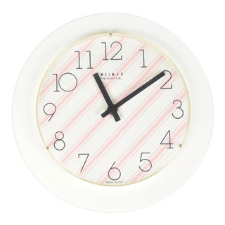 1970s Weimar Opart-Style Wall Clock For Sale