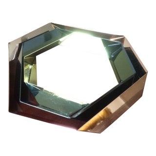 Modern Stacking Hexagonal Metal Trivets - Set of 3