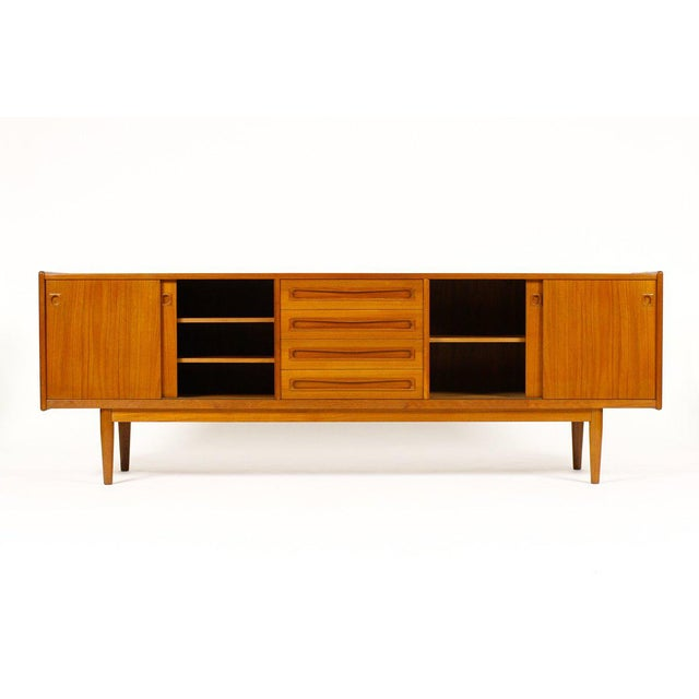 1960s Scandinavian Jens Ærthøj Teak Credenza/Sideboard For Sale - Image 4 of 11