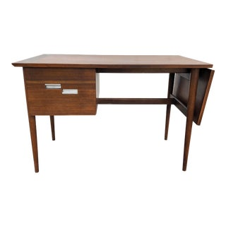 1950s Mid-Century Modern American of Martinsville Drop Leaf Desk For Sale