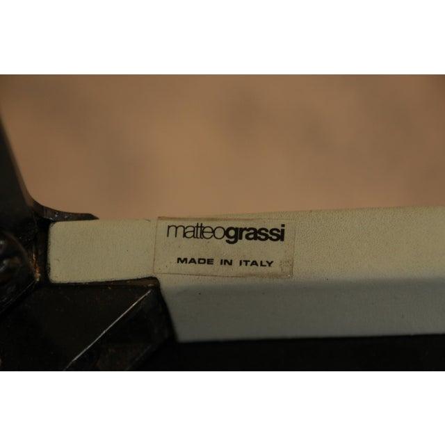 Mateo Grassi Sistina Italian Leather Counter Stools - A Pair - Image 8 of 8