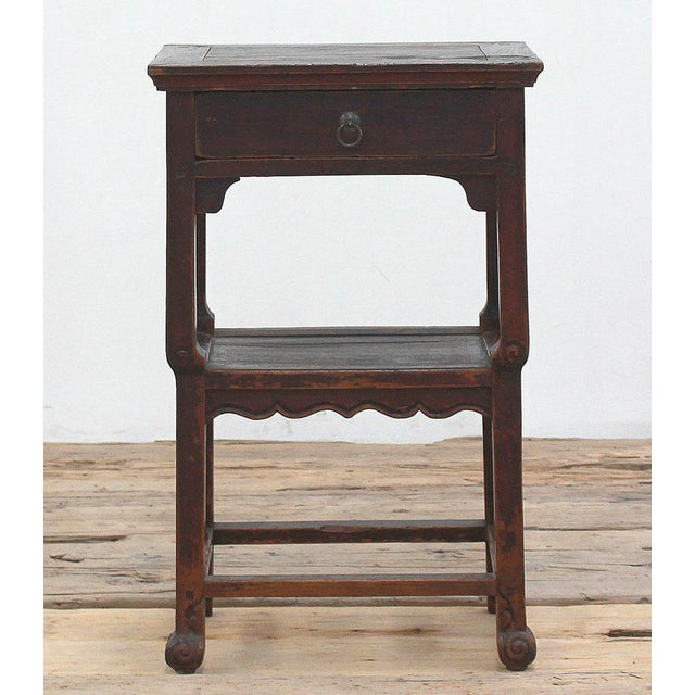 Antique Ming Style Side Table - Image 2 of 3