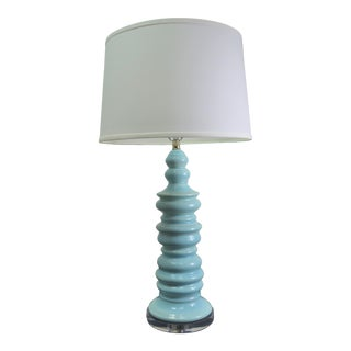 Bungalow 5 Aurora Lamp in Light Blue For Sale