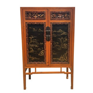 19th Century Chinese Fine Carved Cabinet