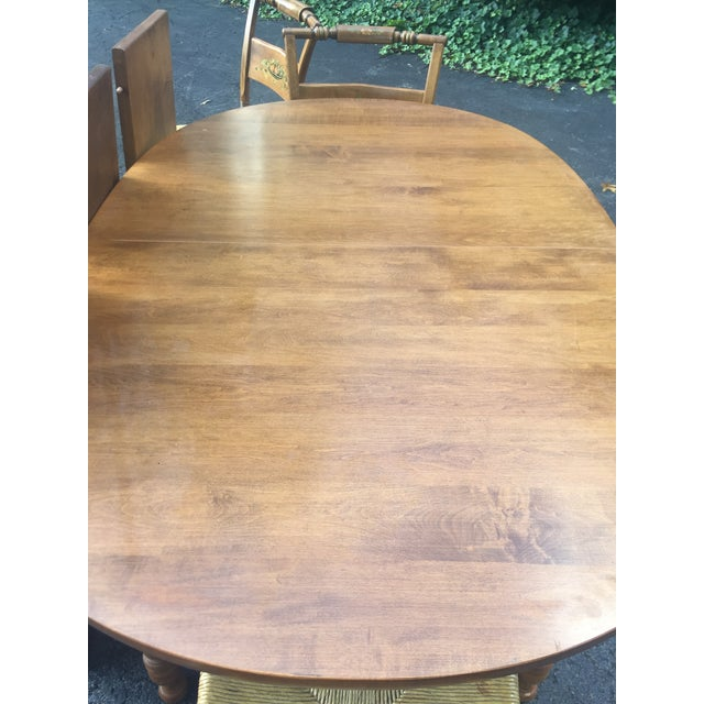 Maple Vintage Heywood-Wakefield Dining Set For Sale - Image 7 of 11