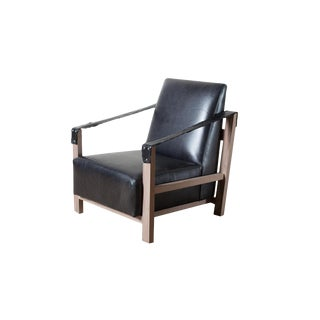 Modern Anderson Leather Chair For Sale