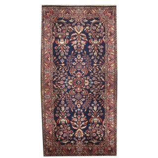 """Pasargad Hand-Knotted Red Saruk Rug - 2'5"""" X 4'9"""" For Sale"""