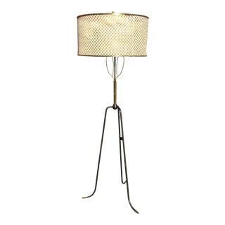Mid-Century Iron Floor Lamp