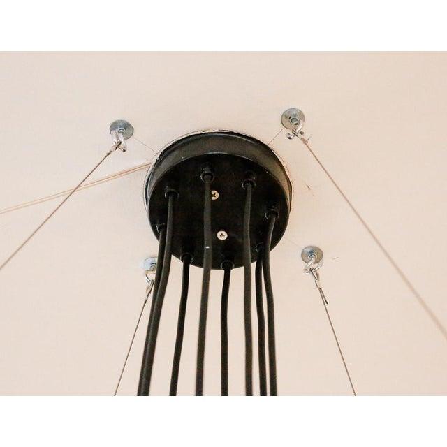 Saturnus Glass Globe Chandelier by Raak of Holland For Sale - Image 9 of 13