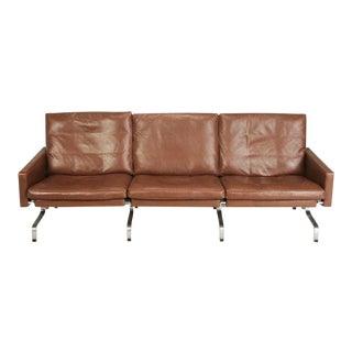 Vintage Mid-Century Poul Kjærholm Pk-31/3 Sofa For Sale