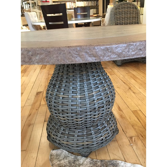 Lane Venture South Hampton Outdoor Dining Table Showroom Sample - Image 2 of 4