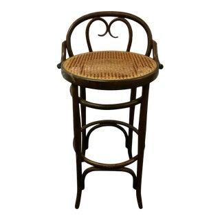 Vintage Salvatore Leone Bentwood Bistro Chair For Sale