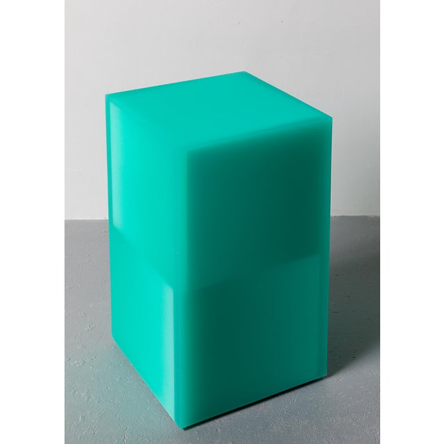 """""""Shifted Cube Box"""", Resin, Wood, 2018, Facture Studio For Sale - Image 4 of 4"""