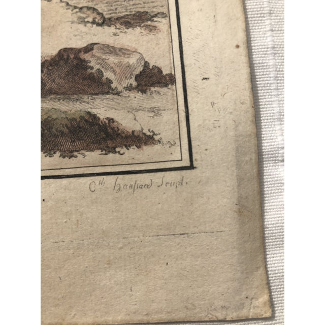18th Century French Bird Engraving Signed by Jacques De Sève Featuring a Rale De Terre For Sale - Image 4 of 13