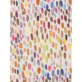 Scalamandre Jamboree Fabric, Magenta/Multi For Sale