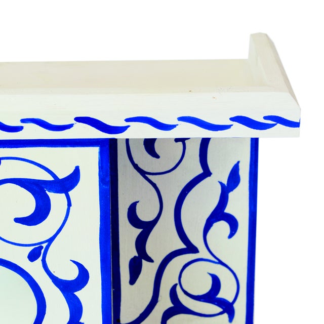 From our Blue Majorell Collection, the style and the colors in this stunning shelf are inspired by Le Jardin Majorelle in...