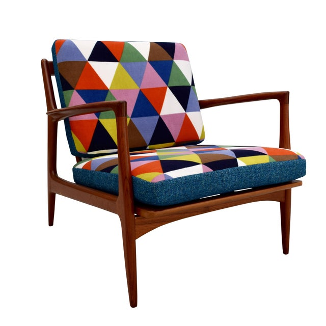 Vintage Danish Mid-Century Teak Lounge Chair For Sale - Image 10 of 10