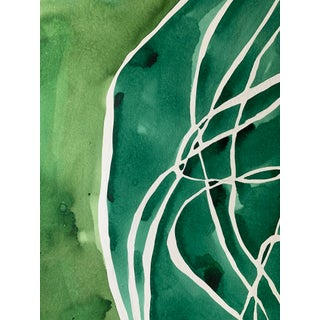 Big Green Tumble Painting by Kate Roebuck Preview