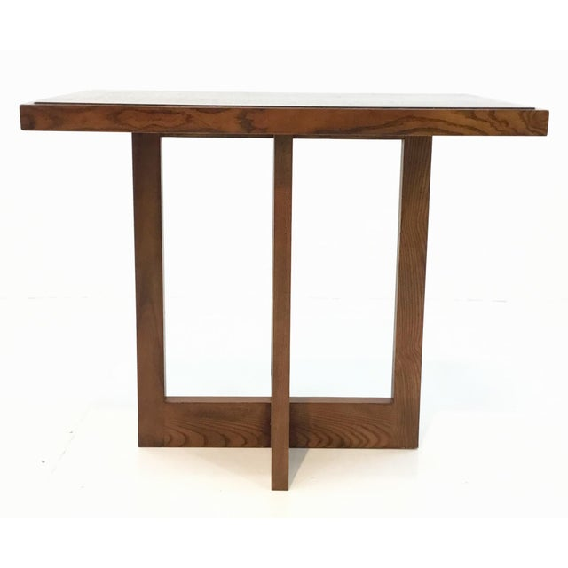 Incredible Hickory Chair Modern Colin Side Table Ncnpc Chair Design For Home Ncnpcorg