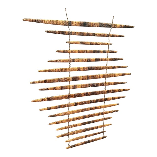 Braided Wood Wall Art Piece - Image 1 of 5