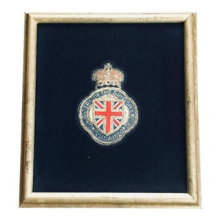 Daughters of the British Empire Badge - Gilt Frame