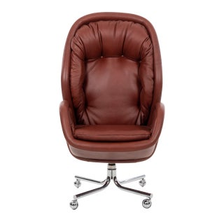 1960s Vintage Domore Executive Desk Chair For Sale