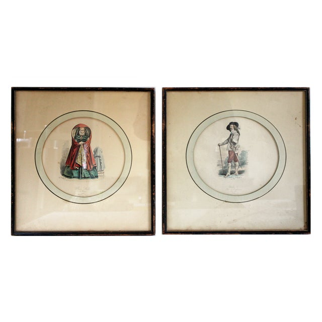 Vintage French Illustration Prints - A Pair - Image 5 of 9