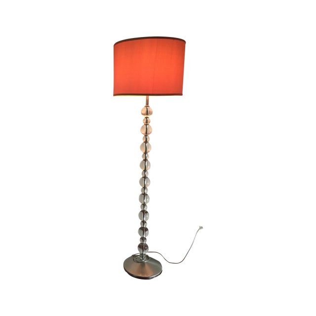 Mid-Century Crystal Floor Lamp - Image 6 of 6
