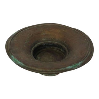 Antique Hand-Hammered Copper Bowl