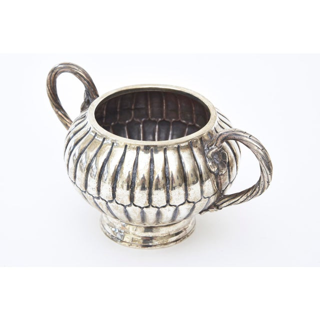 Sterling Silver Hallmarked Sanborn Tea/Coffee Service For Sale - Image 9 of 10