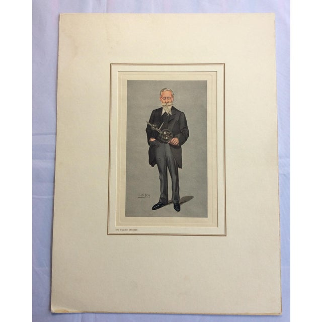 Vanity Fair Prints of Scientists for Petrolagar Laboratories - Set of 7 For Sale - Image 10 of 10