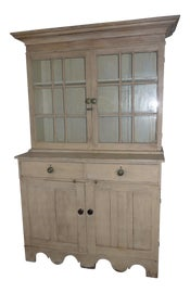 Image of Antique White Armoires Wardrobes and Linen Presses