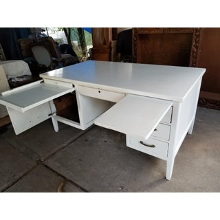 Mid Century Modern Style Executive Desk Preview