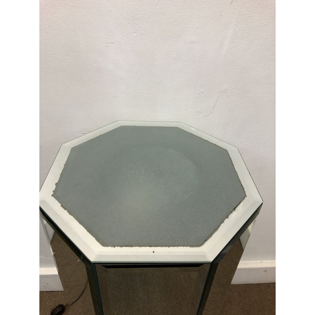 1960s Mid-Century Modern Mirrored Pedestal For Sale - Image 5 of 10
