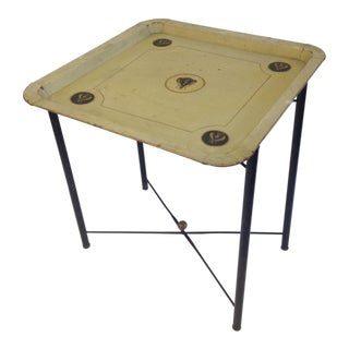 Metal Bee Folding Table