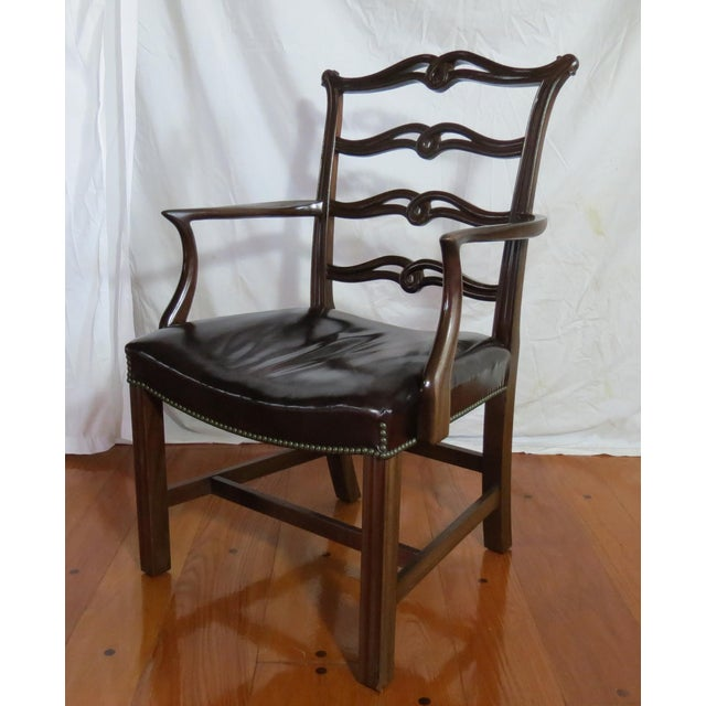 Chippendale Ribbon Back Dining Chairs - Set of 8 For Sale In Orlando - Image 6 of 13