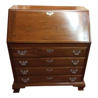 Vintage Maddox Cherry Secretary Desk For Sale